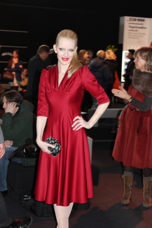 Mirja Du Mont Outfit Fashion Week