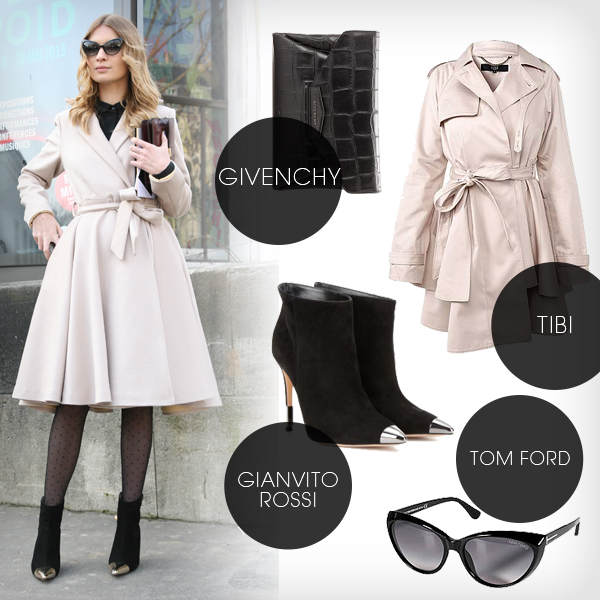 trenchcoat outfit