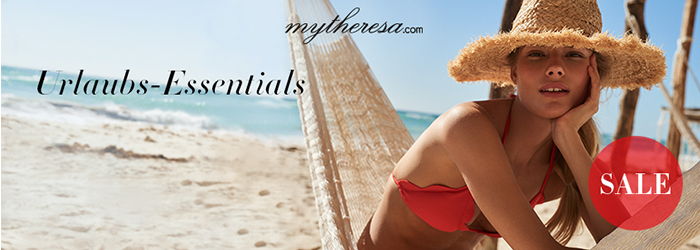mytheresa Sommer Urlaubs Essentials