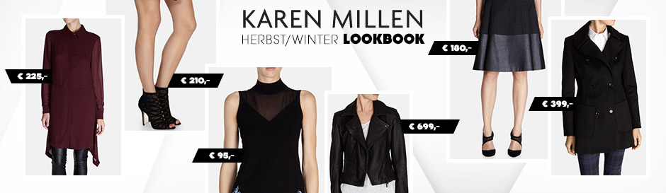 Karen Millen Herbst Lookbook