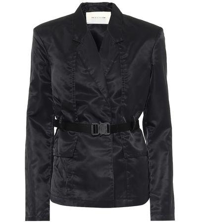 1017 ALYX 9SM Jacke aus Shell schwarz