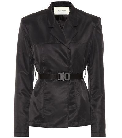 1017 ALYX 9SM Jacke mit Gürtel schwarz