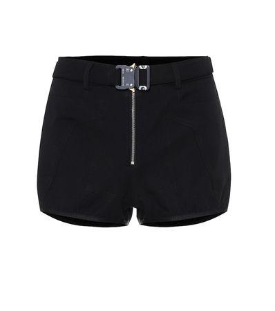 1017 ALYX 9SM Shorts aus einem Baumwollgemisch schwarz