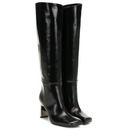 1017 ALYX 9SM Stiefel aus Leder schwarz
