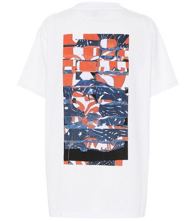 1017 ALYX 9SM T-Shirt aus Jersey weiss