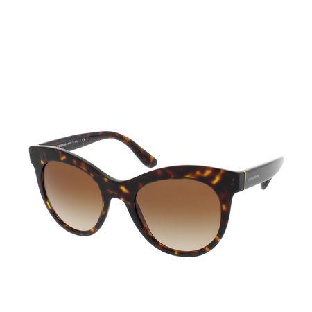 Dolce&Gabbana  Sonnenbrille  -  DG 0DG4311 502/1351  - in braun  -  Sonnenbrille für Damen braun