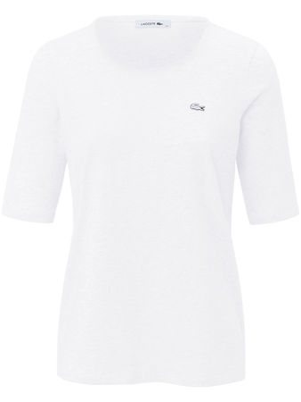 Lacoste Rundhals Shirt 1/2 Arm  rot weiss