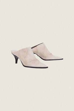 Dorothee Schumacher WESTERN SPIRIT santiago pointy mule (5cm) 37 1/2 beige