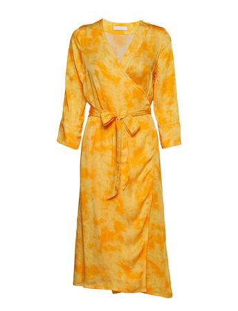 2nd Day 2nd Jessa Pixels Kleid Knielang Gelb 2NDDAY orange