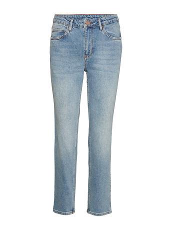 2nd Day 2nd Riggis Thinktwice Straight Jeans Hose Mit Geradem Bein Blau 2NDDAY grau
