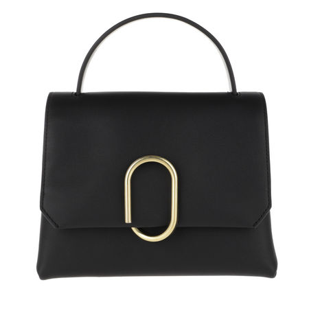 3.1 Phillip Lim  Satchel Bag  -  Alix Mini Top Handle Satchel Black Brass  - in schwarz  -  Satchel Bag für Damen schwarz