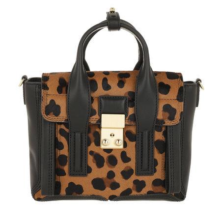 3.1 Phillip Lim  Satchel Bag  -  Pashli Mini Satchel Leopard  - in braun  -  Satchel Bag für Damen grau