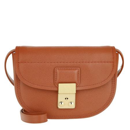 3.1 Phillip Lim  Umhängetasche  -  Pashli Mini Saddle Belt Bag Cognac  - in cognac  -  Umhängetasche für Damen rot