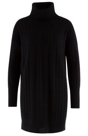 360 Cashmere 360° Cashmere - Kleid Daniela aus Cashmeregemisch schwarz