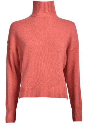 360 Sweater  Cashmere Stehkragen-Pullover von , Feuer Damen rot