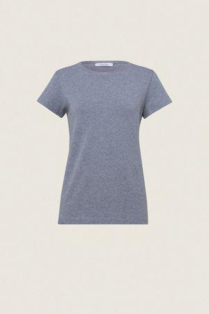 Dorothee Schumacher CASUAL SOFTNESS shirt o-neck 1/4 1 beige