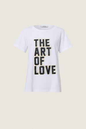 Dorothee Schumacher FALL IN LOVE shirt o-neck 1/4 1 lila