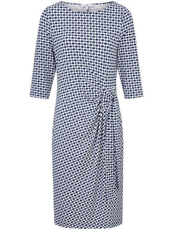 Uta Raasch Jersey-Kleid 3/4-Arm  mehrfarbig grau