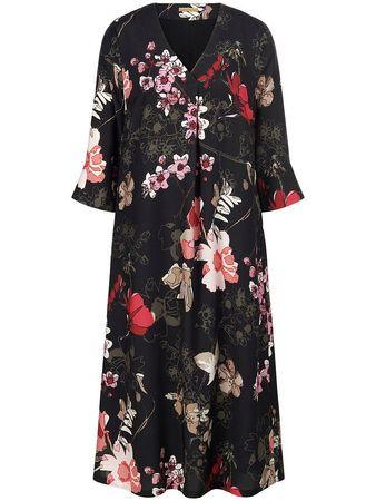 Drykorn  Kleid Tilesa Mit 3/4-Arm schwarz schwarz