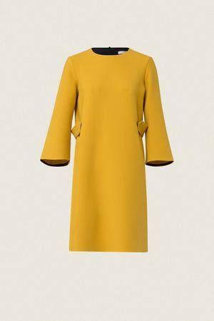 Dorothee Schumacher BUSINESS PERFECTION dress 3/4 sleeve 1 beige