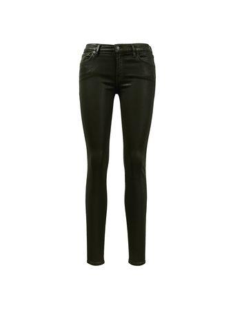 7 For All Mankind  - Jeans 'Skinny' Khaki schwarz