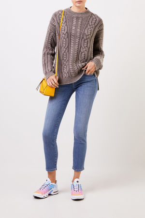 7 For All Mankind  - Skinny-Jeans 'Pyper Copped' Blau