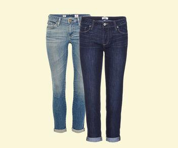 Designer Luxus 7/8-Jeans