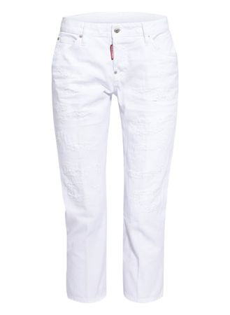 Dsquared2  7/8-Jeans Cool Girl weiss grau