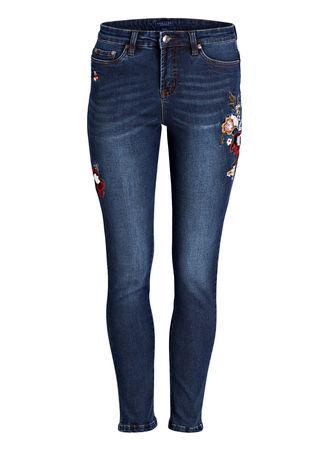 Brigitte von Schönfels 7/8-Jeans grau