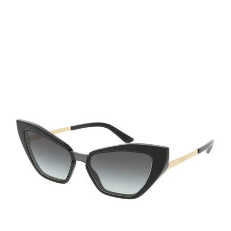 Dolce&Gabbana  Sonnenbrille  -  DG 0DG4357 501/8G29  - in schwarz  -  Sonnenbrille für Damen grau