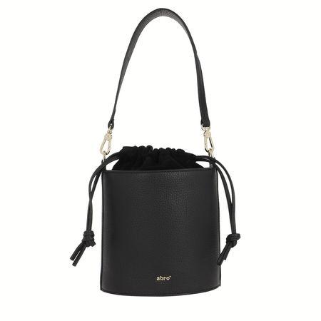 abro  Beuteltasche  -  Drawstring Bag Zoey Black  - in schwarz  -  Beuteltasche für Damen schwarz