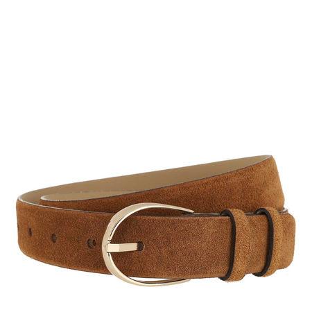 abro  Gürtel - Belt - in cognac - für Damen braun