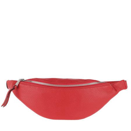 abro  Gürteltasche  -  Linna Belt Bag Red  - in rot  -  Gürteltasche für Damen rot