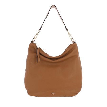 abro  Hobo Bag - Dalia Bucket Bag Leather - in cognac - für Damen braun