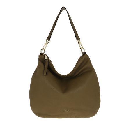 abro  Hobo Bag - Hobo Bag Erna Small - in grün - für Damen braun