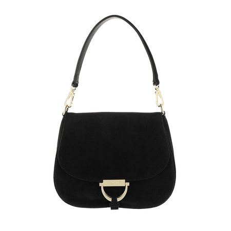 abro  Satchel Bag  -  Crossbody Bag Temi Small Black  - in schwarz  -  Satchel Bag für Damen schwarz