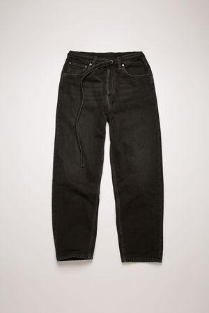 Acne Studios   1991 Toj Vintage Black Black Loose fit jeans