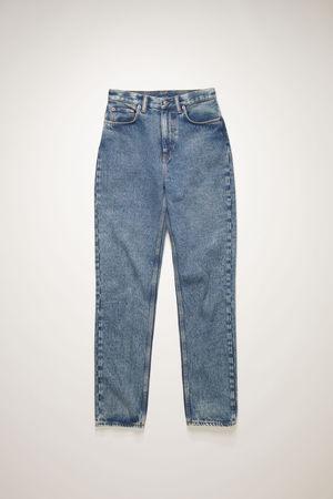 Acne Studios   1995 Blue Pepper Rigid Mid Blue Slim fit jeans braun