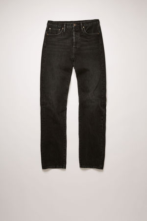 Acne Studios   1996 Vintage Black Black  Classic fit jeans braun