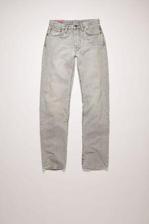 Acne Studios   1997 Stone Grey Steingrau  Jeans in klassischer Passform braun
