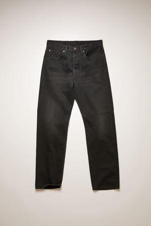 Acne Studios   2003 Vintage Black Black Loose fit jeans braun