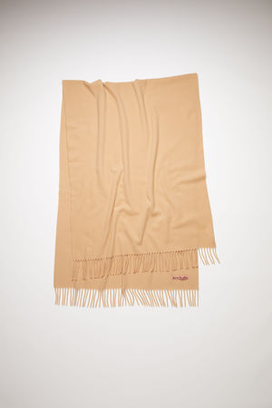Acne Studios  Canada New Camel brown  Oversized scarf braun