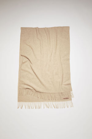 Acne Studios  Canada New Oatmeal melange  Oversized scarf grau