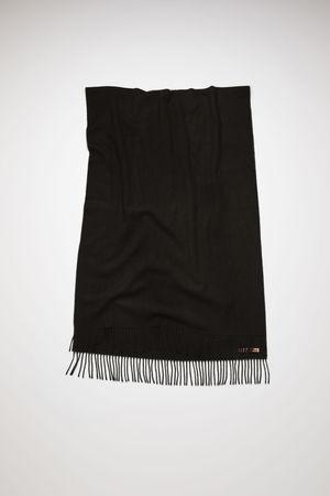 Acne Studios  Canada New Schwarz  Großer Schal grau