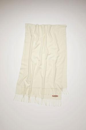Acne Studios  Canada New Weiß  Großer Schal grau