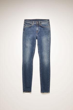 Acne Studios  Climb Mid Blue Mid Blue Skinny fit jeans braun