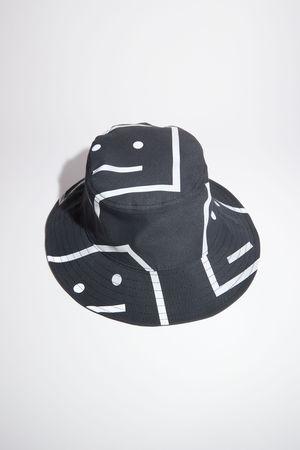 Acne Studios  FA-UX-HATS000059 Black  Printed bucket hat