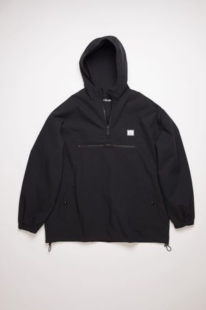 Acne Studios  FA-UX-OUTW000029 Black  Hooded anorak jacket
