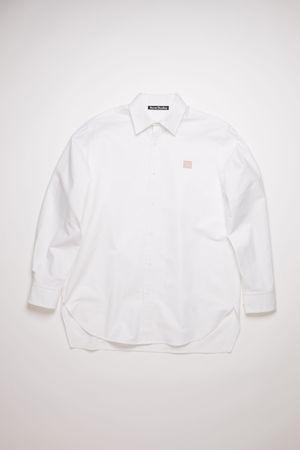 Acne Studios  FA-UX-SHIR000016 White  Oxford shirt