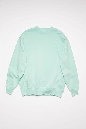 Acne Studios  FA-UX-SWEA000010 Spearmint green  Crew neck sweatshirt grau